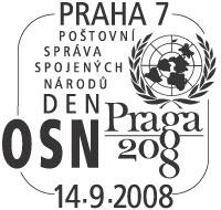 "Razítko - ""Den OSN"""