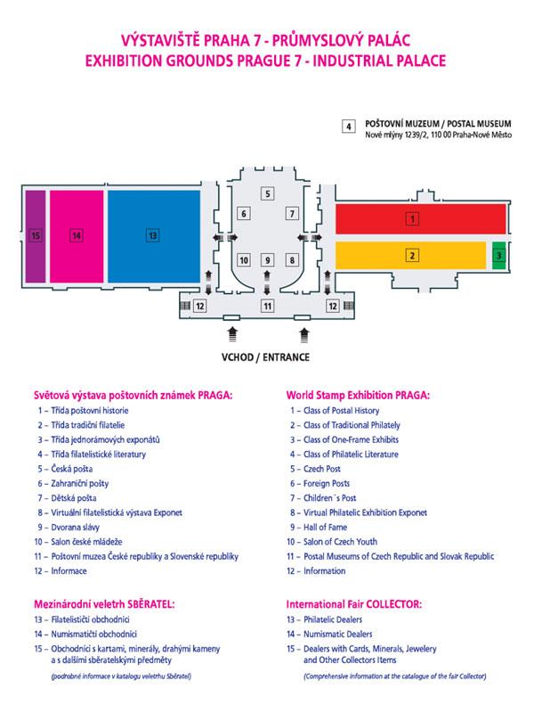 Obrázek - Plánek výstavy